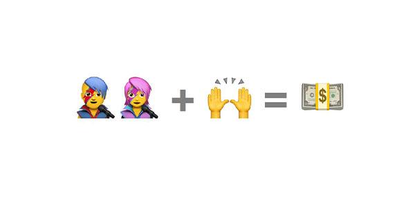 Emoji presentation slide